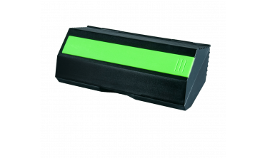 Youth Force® Black Case with Lime Green Ruler