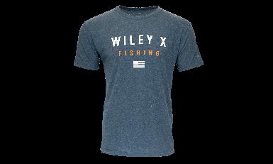 WX Shore - Men's T-Shirt, Fishing - Front View