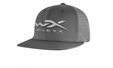WX Charcoal Poly-Stretch Cap