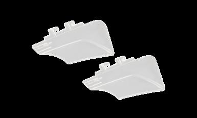 WX Contour Clear Permanent Side Shields