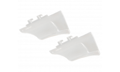 WX Profile Clear Permanent Side Shields