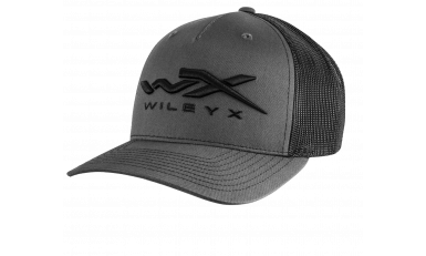 Wiley X Gray Mesh Snapback Cap