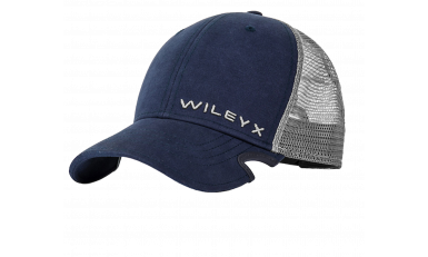 Wiley X Blue/Grey Mesh Notch Cap