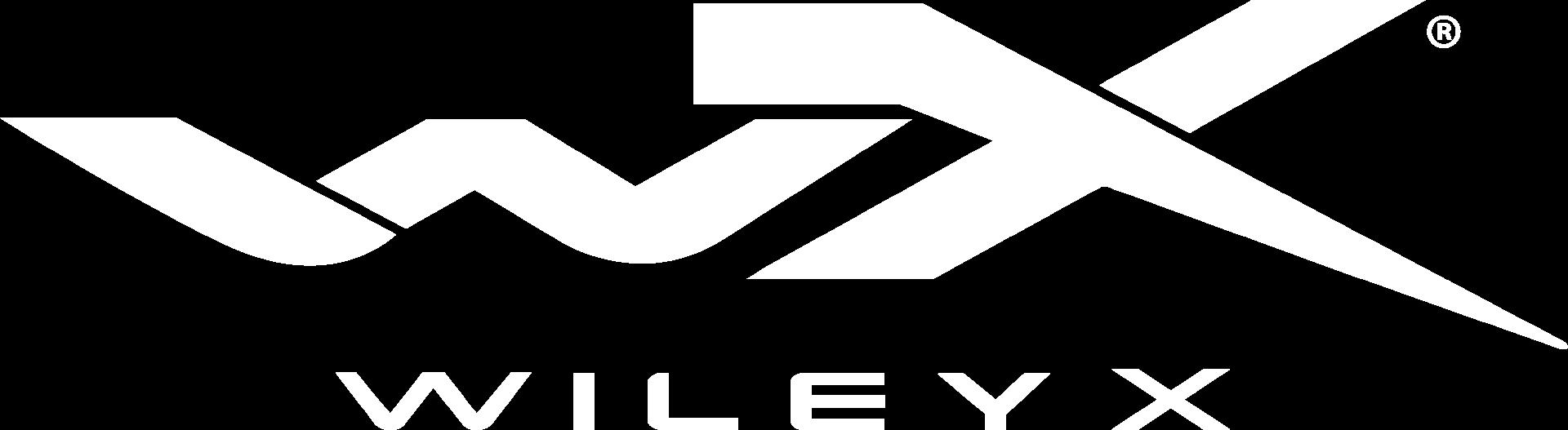 wiley x logo white